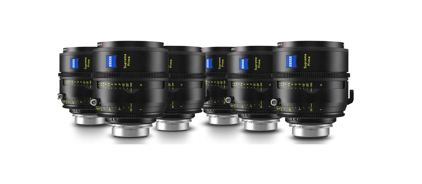 Zeiss Supreme Prime Lenses T1.5