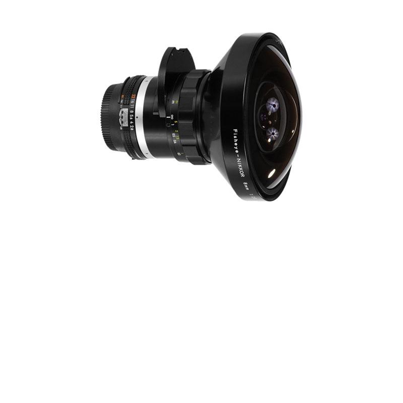 Nikkor 8mm fisheye T2.8