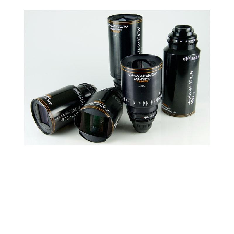 T Series Anamorphic lenses